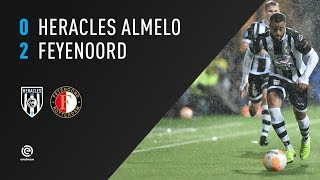 Heracles Almelo - Feyenoord | 11-11-2018 | Samenvatting