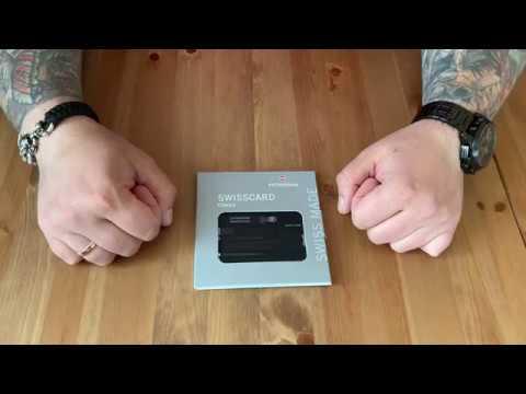 Victorinox Swiss Card Classic обзор, функционал, тест.