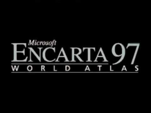 Microsoft Encarta 97 World Atlas Intro