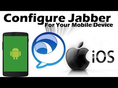 How to Configure Cisco Jabber for Your Mobile Device (iPhone