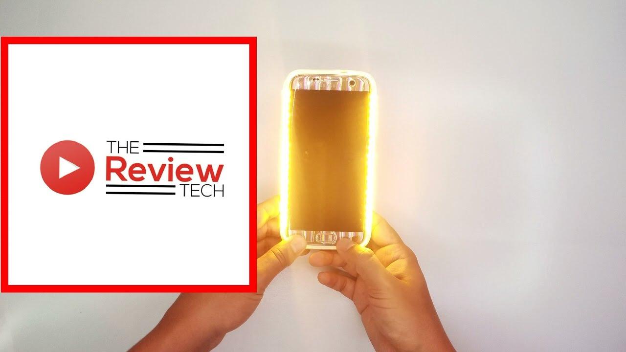 newest b4daa c6172 Samsung Galaxy S7 Edge Selfie Case !!!!! LED Selfie case !!!! Unboxing !!!!!