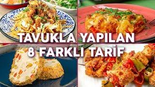 Her Zaman Yaptıklarınızdan Çok Farklı 8 Tavuklu Tarif - Ana Yemek Tarifleri