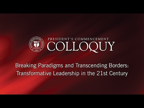 2018 President's Commencement Colloquy