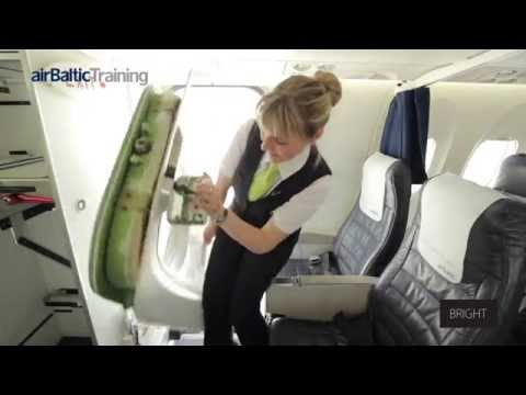 airBaltic Training Behind the Scenes