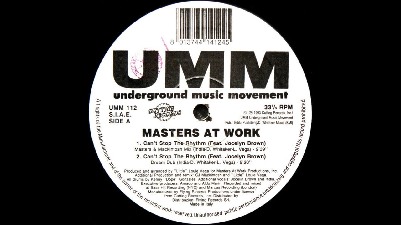 Masters At Work feat. Jocelyn Brown - Can't Stop The ...