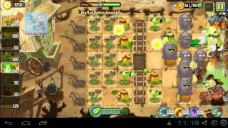 Big Bad Butte Level 67 Boost Party PvZ 2 Endless Zone