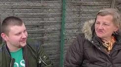 Sympathisch, man kann sich unterhalten | Gurkensohn und Karin Ritter