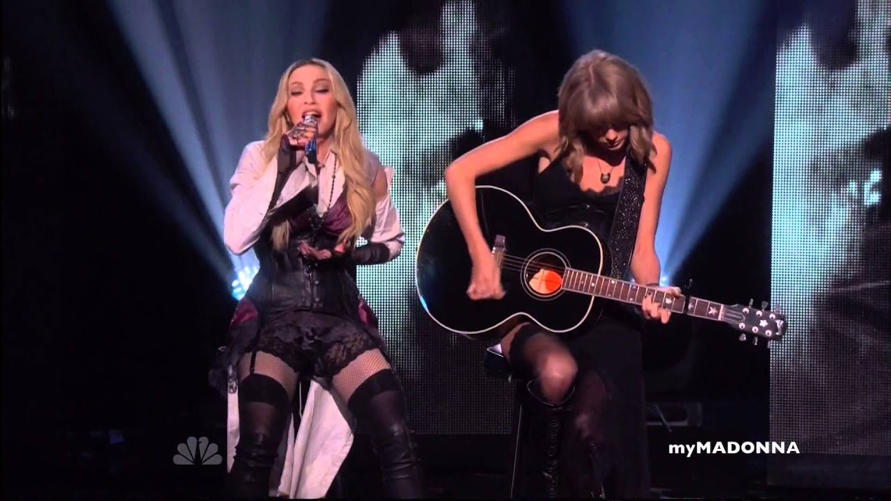 Download HD - Madonna and Taylor Swift Perform Ghosttown
