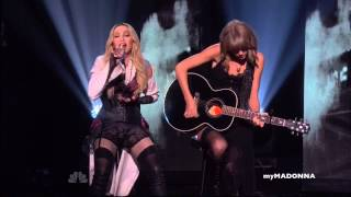 HD Madonna and Taylor Swift Perform Ghosttown