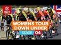 Santos Women's Tour Down Under 2020 Stage 4 HIGHLIGHTS    Schwalbe Stage 4: Adelaide