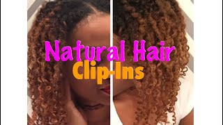WATCH me BLEND my Natural Hair with  Clip-ins   Amazing Beauty Hair Extensions