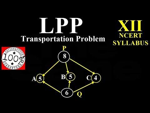 Q95 Linear Programming LPP Transportation Problem  Important Question Class 12 Maths