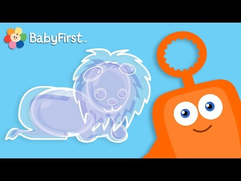 Bubbles Fun  Educational videos for kids by BabyFirst TV   Bloop and Loop, Spoon, Boats and Lion