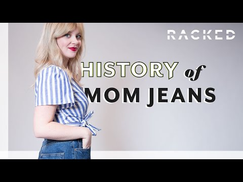 Origins of Mom Jeans | History Of | Racked