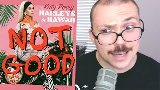 """Katy Perry - """"Harleys in Hawaii"""" TRACK REVIEW 