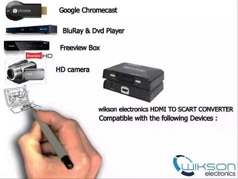 how to connect chromecast to scart tv youtube. Black Bedroom Furniture Sets. Home Design Ideas