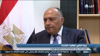 شاهد.. سامح شكري يتهرب من سؤال حول موقف مصر من جماعة الإخوان