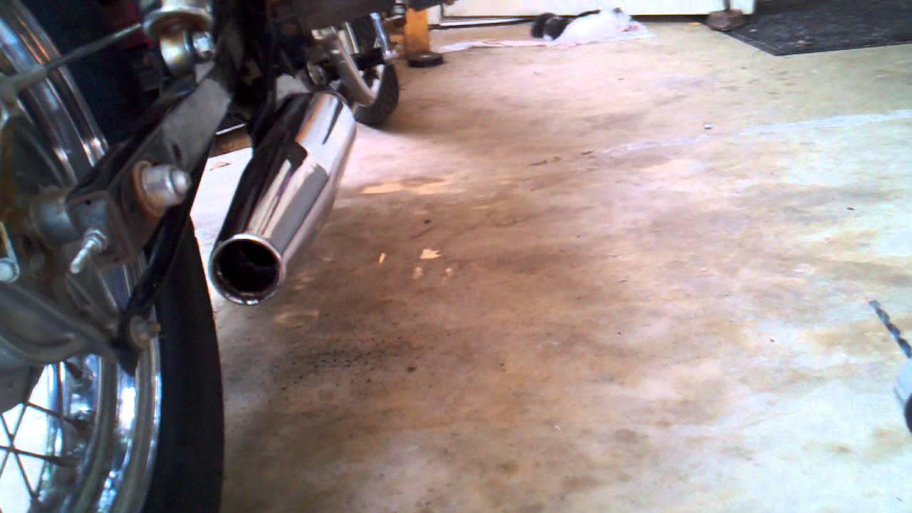 Baffle removal 96 Honda rebel