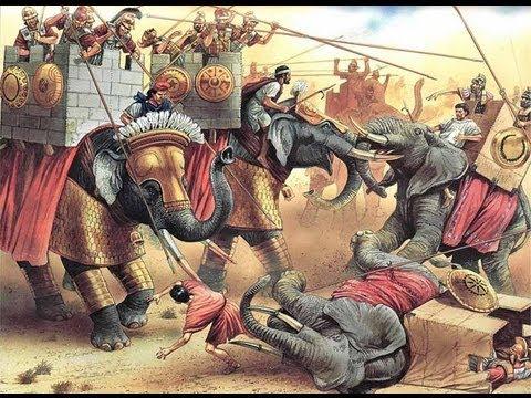Битва при Рафии.