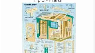 Build A Shed Using Metal Storage Shed Plans 3 Tips