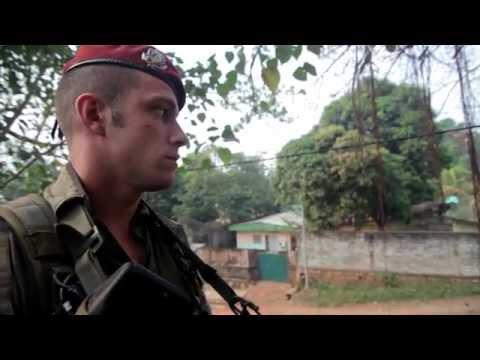 République centrafricaine - dispositif militaire à Bangui