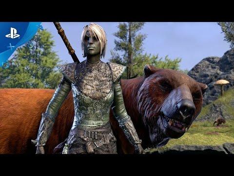 The Elder Scrolls Online: Morrowind - Warden Gameplay Trailer | PS4