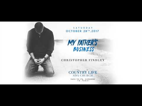 My Father's Business  - Christopher Findley
