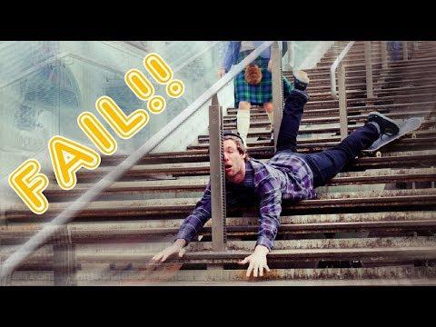 Funny Skateboard Fails Best Skateboard Fails Compilation 2018