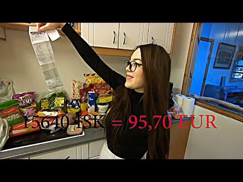 Food prices in Iceland [EUR] Bónus Supermarket