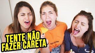 TENTE NÃO FAZER CARETA!!!!