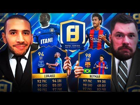F8TAL TOTS LUKAKU! KNOCKOUT VS NEPENTHEZ 2ND LEG! FIFA 17 ULTIMATE TEAM