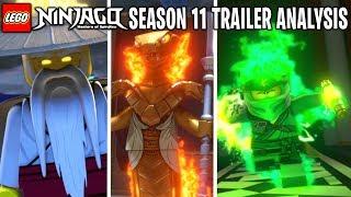 LEGO Ninjago Season 11 Official Trailer FULL Analysis! *WU is EVIL & MORE!*