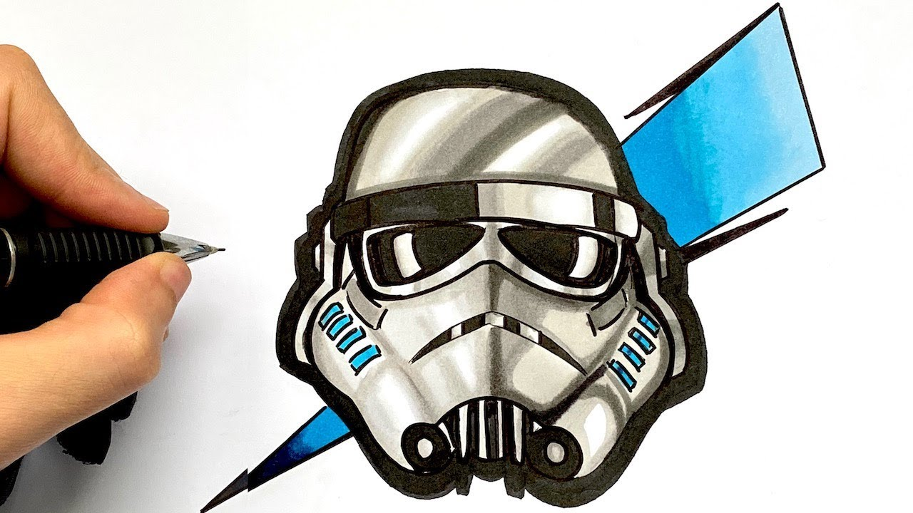 Tuto Dessin Stormtrooper X Fortnite Star Wars