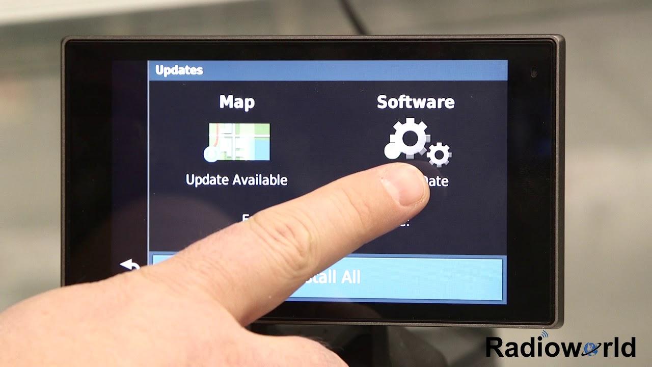 WiFi Garmin GPS Map Update