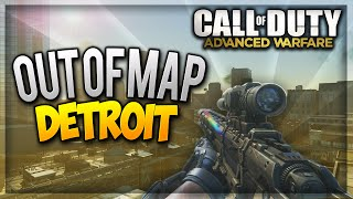 "COD Advanced Warfare Jump Spots - ""Detroit Out Of Map"" After Patch (Infected Glitches) ""XB1 & PS4"""