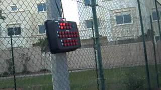 TENNIS GAME USING WIRELESS SCOREBOARD