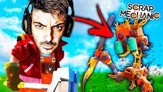 SURVIVAL CON ROBOTS 4SESINOS!! - #1 SCRAP MECHANIC!! - Nexxuz