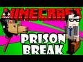 Minecraft Esquisito #1 - Fugindo da Prisão com um Cavalo de Pau XD