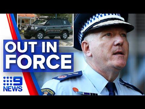 Coronavirus: Police Raid Public Spaces To Enforce Social Distancing | Nine News Australia