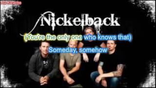 Someday - nickelback (karaoke)