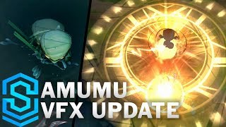 Amumu Visual Effect Update Comparison -  All Affected Skins | League Of Legends