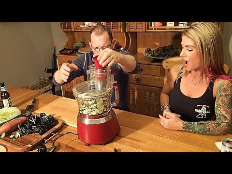Unboxing The Hamilton Beach Big Mouth Deluxe 14 Cup Food Processor At The Crouch Ranch
