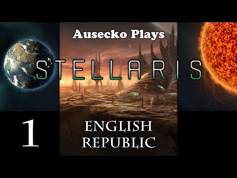 First Play Stellaris English Republic 1 [First Look at the Game]