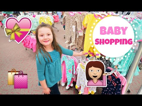 Shopping for Baby Clothes!?!  And Target Toy Shopping By Daisys Toy Vlog