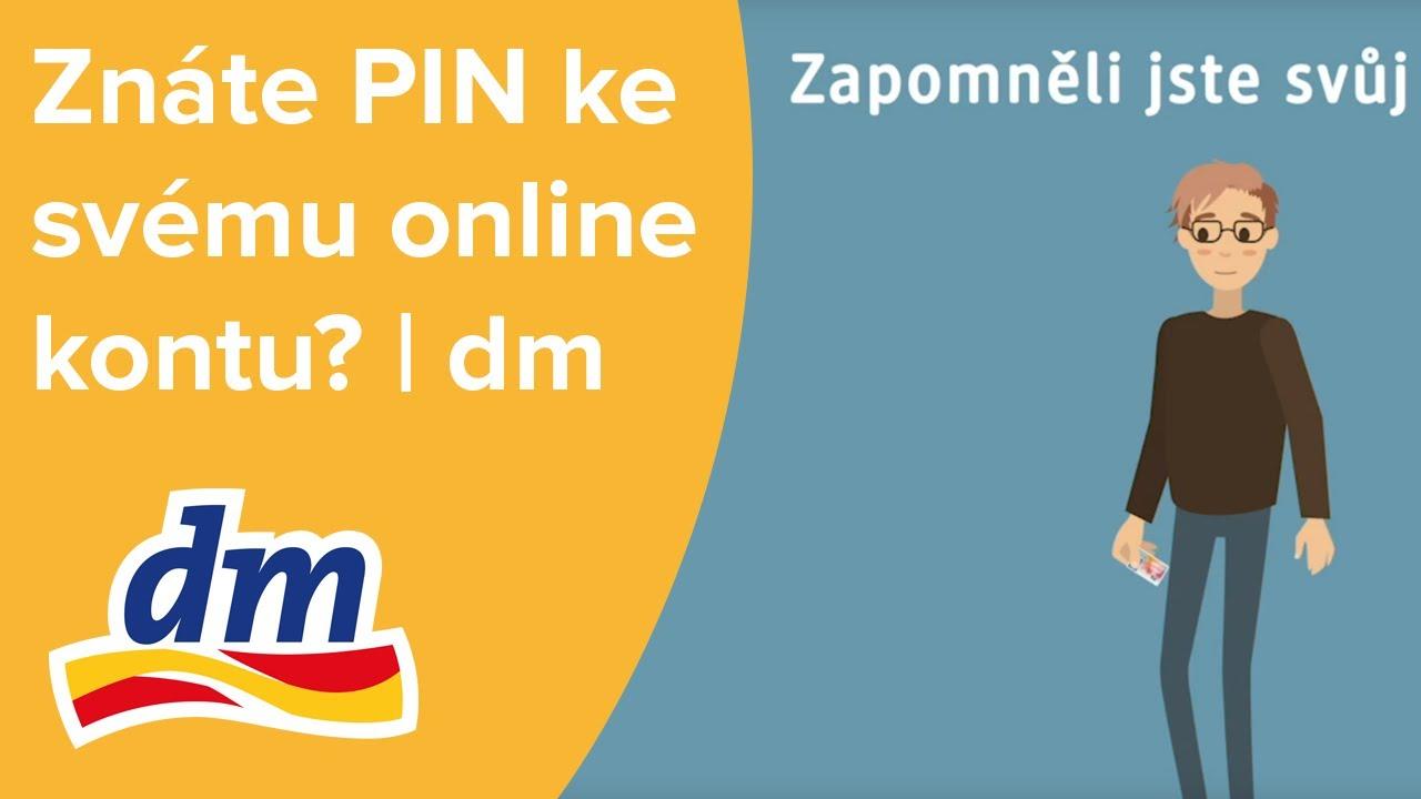 Znáte PIN ke svému online kontu? | dm drogerie