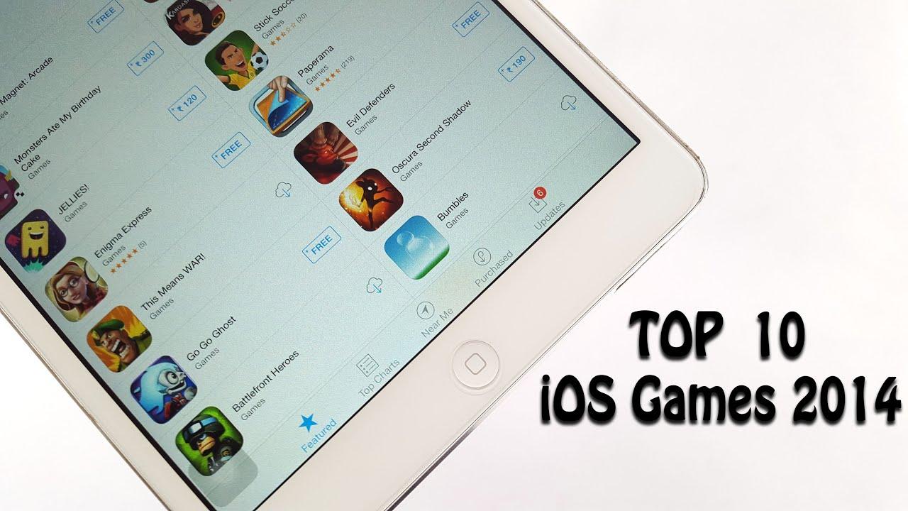 10 best ios games