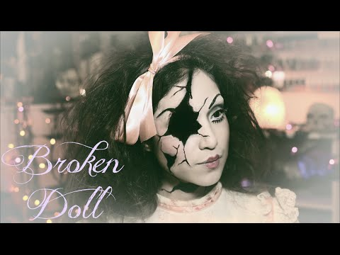 Creepy Broken Doll Tutorial: Halloween 2015 | Dulce Candy