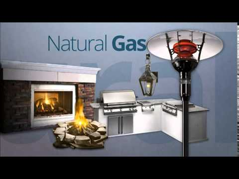 Outdoor Rooms - Natural Gas