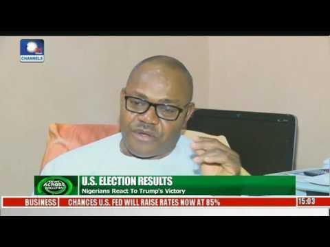 News Across Nigeria Nigerians React To Trump's Victory