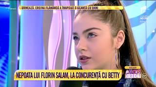 Bia, nepoata lui Florin Salam, la concurenta cu Betty